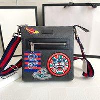 Designers Men G Crossbody Bags Luxury Briefcases Shoulder Bags Nylon Messenger Envelope Bag Fashion Purses Single Shoulder school leather
