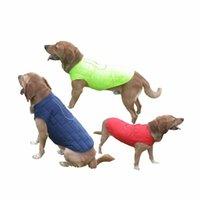 Dog Apparel Winter Pet Clothes Warm Down Jacket Waterproof Coat Hoodies For Small Medium Big Dogs Golden Retriever Shepherd