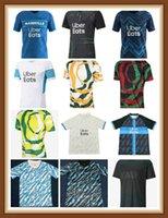 Maillot Om África Futebol Jerseys 2021 Payet Benedetto Thauvin 20 21 Camisa de Futebol Men + Kids Kit