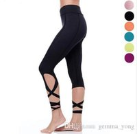 Black Turnut Leggings Green Sexy Compression Fitness Pantalones de yoga Capri Rose Ballet Baile Mallas Pink Pinkle Slim Damas