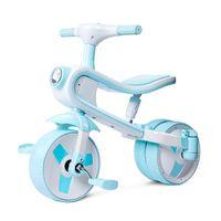 Коляски # Детский трехколесный велосипед Дети Баланс Велосипед Baby Walker Scooter Ездить на игрушках Авто с легкой музыкой 2-6Y