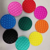 Individual Packed Popet Fidget Toy Push Bubble Board Regular Solid Rianbow Circle Square Octagon Sensory Chess Puzzle Game Finger Fun Bubbles Popper H927D207