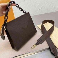 2021 مصممين غسل حقيبة إمرأة أكياس التجميل حقائب النساء أزياء العلامة التجارية pochette حقائب اليد المحافظ مع سلسلة حزام الكتف سلسلة