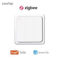 Tuya Smart Life ZigBee Wireless Wall Switch 3 Gangs Remote Portable Tuya Zigbee Gateway Erfordert Kein Limit, um das Hausgerät zu steuern