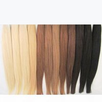"16 ""-24"" # 613 Я наконечнив наращивание волос человека Platinum Blonde Free Tangle-Free I Sup Pre Andeded Keratin Extensions 0,5 г S 100S Pack"