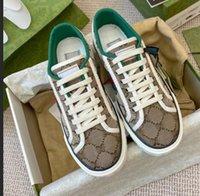 Tasarımcılar Tenis 1977 Sneaker Tuval Luxurys Ayakkabı Bej Mavi Yıkanmış Jakarlı Denim Kadın Ayakkabı ACE Kauçuk Taban İşlemeli Vintage Rahat Sneakers