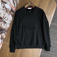 Европа женщины и мужские дизайнерские свитера ретро классическая роскошная толстовка мужчины мужские буквы вышивка круглые шеи удобные высококачественные джемпер