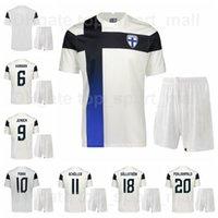 21-22 كرة القدم فنلندا 10 Teemu Pukki Jersey مجموعة 20 جويل Pohjanpalo 8 Robin Load 13 Pyry Soiri 4 Joona Toivio Football Kits
