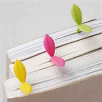 Bookmark 5pcs 3D Seedling Student Gift Silicone Bookmarks Students Cute Cartoon Lovely School Stationery
