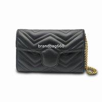 2021 Hot Luxurys Designers Sacos de Ombro Moda Embossing Couro Messenger Bag Bolsas Bolsas Crossbody Bag