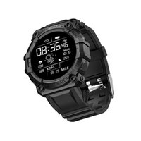 FD68S Smartwatch Sports Wristbands Wristwatches Heart Rate Blood Pressure Monitor Intelligent Clock Hour Dial Push Weather Smart Watch 2021