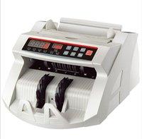 Compteur de billets, 110v / 220V, comptoir monétaire, adapté à l'euro Dollar américain, etc. Multi-monnaie compatible Compatible Comptabilisation Machine LLFA