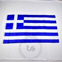 Griechenland / griechische Banner Nationalflagge Freies Schiff 3x5 ft / 90 * 150cm Hängen Nationalflagge Griechenland / Griechisch Home Decoration Flagge Banner