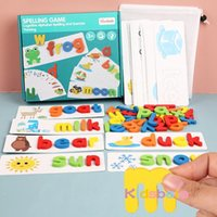English letter cognition enlightenment toys kindergarten puzzle wooden puzzle game