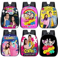 Backpack Kids Me Contro Te Children Kindergarten Boys Girls Knapsack Funny School Bag Students Bookbag Rucksack Mochila