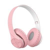 BT Wireless Headphone Macron Foldable Headsets for Phone Tablet PC Game Sports Earphone ST95 Headband with TF Slot MP3 Player for Kids Gift