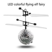 Rc Helicopter Ball Rc Flying Ball Drone Helicopter Ball Built-in Shinning Led Lighting For Kids Toy Rechargeable Aircraft Toys