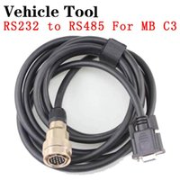 Araç Aracı Araba OBD2 Kablosu MB Yıldız C3 Çoklayıcı Konnektör 232 ila 485 Teşhis Araçları Kabloları