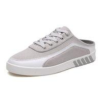 21SS fashion Life style men casual shoes mens bred smoke grey black white platform Loafers shoe size 39-44