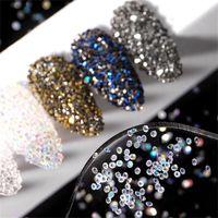 Nail Art Decorations XZM Sticky Diamond Jewelry Accessories Professional Transparent Bead Micro DIY Decoration Products Fashion