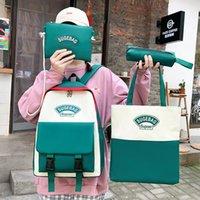 Linen Durable Laptop Backpack Travel Large Diaper Bag Student Shoulder School for Women & Men bags