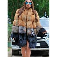 Grote wollen vrouwen bontjas Hoogwaardige stand-up kraag retro comfortabele warmte mode reizen pendelen