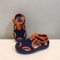 Sandals CSBL Summer Mesh Children Boys Baby Toddler Shoes Waterproof Beach 1-6 Years Old Soft Sole Children's