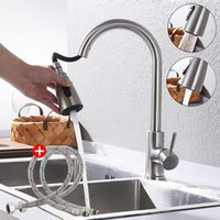 Extractable Sink Basin Faucet Soft Pipe Kit Perfect Cold Water Tap Salon Washing Hair Pet Cat Dog Shower Spouter Bathroom Faucets