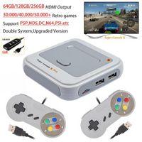 256g Super Console X Pro WiFi 4K HD Retro Mini TV Gaming Player con 50 + emulator 50000 + giochi per PSP / PS1 / N64