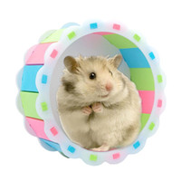 Pequenos suprimentos de animais Hamster Running roda Silent Spinner Hedgehog exercício esportes brinquedo 18cm 15cm 13cm esteira
