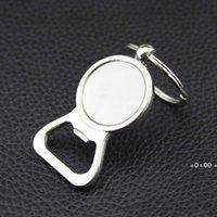 Abridor de garrafa de cerveja Key Anéis DIY para 25mm Cabochão de vidro Keyrings Gravura Presentes de Zinco Liga de Cozinha Bar Ferramentas Homens Presentes Ewe9856