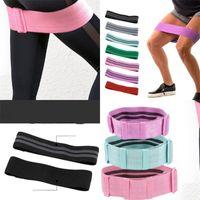 Mens Belts Leash Resistance Band Elastic Headband Womens Belt Elastic Headband Hip Circle Adjustable Yoga Suitable Shaping Strength 12hw C2