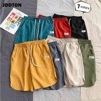 Casual shorts jddton colorful verão fina mais tamanho solto surf mar praia respirável suor sweatshorts 5xl calças je422