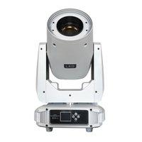 Beyaz-Konut BSW250 Işık Hareketli Kafa LED 250 W 3in1 Sharpy Işın Yıkama Sahne Aydınlatma DJ DMX Ekipmanları