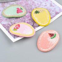 Niños niña clips de pelo brillante lindo fruta seguridad barrettes bb clip little girl regalos niños accesorios