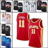 كرة السلة جيرسي جيانيس 34 antetokounmpo devin 1 بوكر كريس 3 بول ترا 11 طبعة شابة