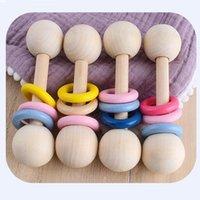 الطفل الطبيعي سيليكون سيليكون الأسنان الرعاية الصحية المادة الرضع اليد الاستيلاء ممارسة اللعب حبة ملونة مهذري