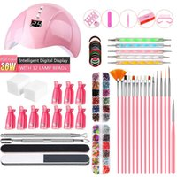 Nail Tools Sets Nails Polish Gel Remover Kit For UV Lamp Brush Clips Manicure Machine Professional Acrylic Art Set At Home Kits