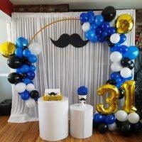 Оформление партии Свадебные реквизиты Декор на день рождения декор кованого железного круга круглый кольцо арки фона газон искусственный цветочный стенд настенный полка