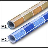 Wall Stickers Décor Home & Garden60X500Cm Aluminum Foil Oil Proof Sticker Self-Adhesive Cabinet Paper - 2 Colors Drop Delivery 2021 S9Cvr