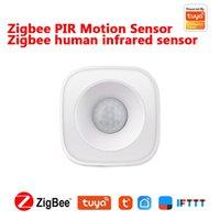 Smart Home Control Motion PIR Sensor Detector Sensor WiFi Body Body Zigbee Uso con Gateway Tuya Life App
