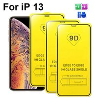 Full Stick Tempered glass for iPhone 13 12 pro max 11 xs xr 7 8 plus Samsung S21 A32 A12 A52 A51 A20 A11 A22 S20 FE 5G 9D Full cover Screen protector
