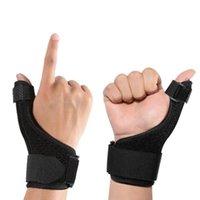 Protezione della compressione del polso del supporto del pollice del pollice del pollice regolabile per la protezione dello sport della tendinite di artrite