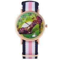 Relógios de relógio de relógio feminino borboleta sapatos de salto alto padrão discar para senhora misturada cor pulseira relógio de pulso meninas