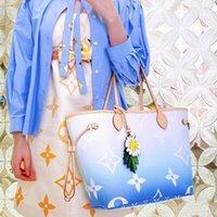 ÜstLvLouis Vitton Onthego 2 adet Degrade Omuz Çantaları Lady Alışveriş Kılıf Lüks Çanta Tasarımcılar Çantalar Kadın Moda Tasarımcısı Crossbody Messenger Çanta