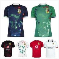 2021 Lions Britânicos e Irlandeses Camisa Internacional da Liga Internacional Jersey Home Social Seleção Lions Rugby Jerseys