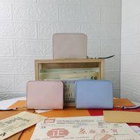 Lüks Tasarımcılar Cüzdan Çantalar Moda Kısa Havuz tarafından Zippy Cüzdan Monogramlar Empreinte Deri Kabartma Klasik Fermuar Cep Pallas Çanta Zip Sikke Çanta