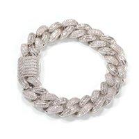 Link, Chain Designer Fashion Bling Hip Hop Cuban Bracelet