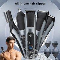 Clipper per capelli Professionale Tutto in un trimmer di rasoio elettrico per uomini Grooming Kit barba trimmer Set di taglio capelli
