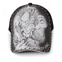 Бейсболка мужская татуировка дракона шляпа шляпа дракона Летние улицы оригинальных иллюстраций напечатаны китайский ветер контрактный тень отходы их профилактики
